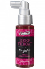 Doc Johnson - Środek znieczulający gardło Good Head Deep Throat Spray Sweet Strawberry