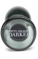 50 Shades Darker - Something Darker Glass Butt Plug