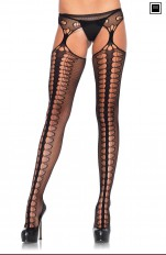 Pończochy z pasem Leg Avenue - 1062 Garter Stockings