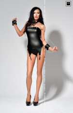 Gorsety latex Me Seduce - Catty Gorset